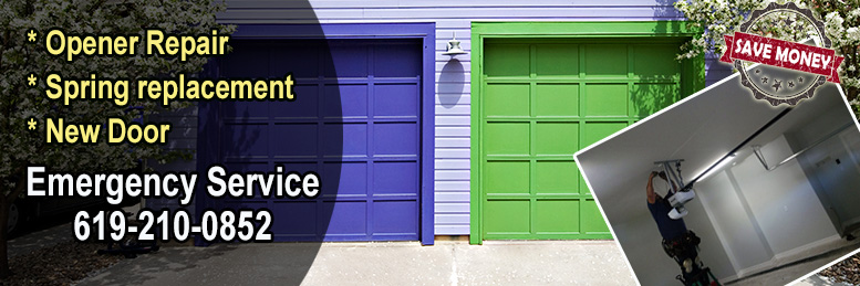Garage Door Repair Oceanside, CA | 619-210-0852 | Same Day Service