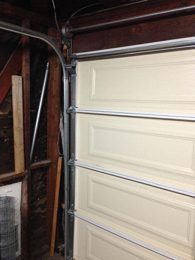 Garage door cable track garage door repair oceanside ca for Garage door repair roseville